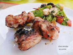 Cinco sentidos na cozinha: Coelho grelhado com azeite e alho