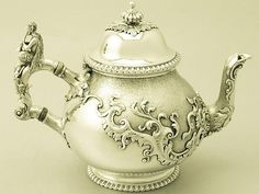 Sterling Silver Teapot - Antique George V SKU: A1560 Price GBP £2,450.00…