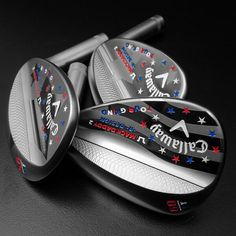 """June 20, 2014: """"[Insert drool here],"""" said Chad Coleman of Callaway Golf about these drool-inducing Mack Daddy 2 wedges."""