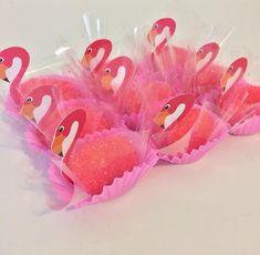 Doces de flamingo