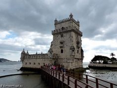Facing the Hieronymites Monastery you'll find Belém Tower (Torre de Belém) looking over Tagus river, in Lisbon.