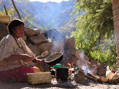 cazadordementes: KUIRA-BA,Así se hace almuerzo en la Sierra de...