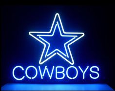Dallas Cowboys Budweiser Neon Sign S35 (multiple size available) 3-Year Warranty Description This is a brand new gorgeous real neon glass tube sign. 100% hand-made, true hand-bend, gas-filled, real glass tube neon signs! They are NOT plastic ...