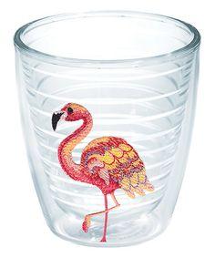 Look at this #zulilyfind! Flamingo 12-Oz. Tumbler #zulilyfinds