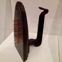 Man Ray - Cadeau  One of my very favorites from Dada
