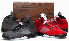 sale retailer 0a5e8 aa5ed Nike Air Jordan 5 (V) Raging Bull Defining Moments Package II