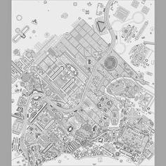 A Field of Walls Project on Giovanni Battista Piranesi's Campo Marzio dell'Antica Roma Venice Biennale. 2012 Architect: Dogma – Pier Vittorio Aurelli