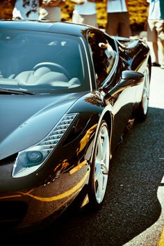 When I become rich I shall buy this car. Ferrari 458