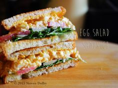 Steve's Cooking: Egg Salad Sandwich By Steven Dolby