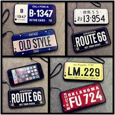 欧米車のナンバープレートiPhone6sケースアイフォン6plusオリジナルカップル向けペア5s耐衝撃7plus保護カバーおしゃれクラシック風バンテージ