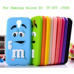 Pink 3D Cute Lovely MM Silicon Case for Samsung Galaxy S4 IV i9500/S4 mini