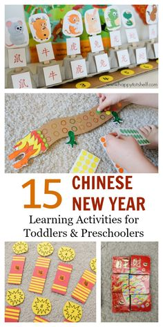 chinese new year theme learning shelf activities for preschoolers and toddlers fun hands on