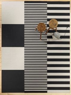 Big Stripe carpet by @woodnotesdesign