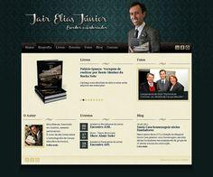 Desenvolvimento do site do escritor e historiador Jair Elias Júnior.