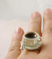 coffee ring.