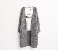 2014 Autumn And Winter Women's Retro Trend Sweater Girls' Fashion V-Neck Long Cardigans - http://www.freshinstyle.com/products/2014-autumn-and-winter-womens-retro-trend-sweater-girls-fashion-v-neck-long-cardigans/