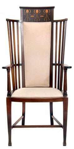 English armchair, c. 1900