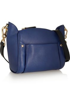 See by Chloé | Karen textured-leather shoulder bag | NET-A-PORTER.COM