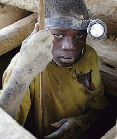 Modern day slavery - gold. Shared by Edith Cruz