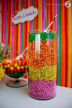Sundae bar candy ideas