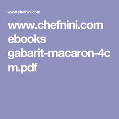 www.chefnini.com ebooks gabarit-macaron-4cm.pdf