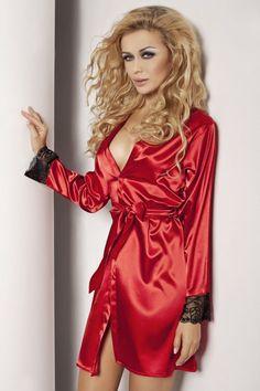 74,90 PLN Czerwony szlafrok | Red Robe  #dkaren #nighclothes #red #nightlingerie #robe #sexyrobe