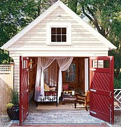 Leaving a shed unutilized in your backyard is a crime against the DIY community! Sure, they make a great storage vessel for rakes and gardening supplies, but the era of basic sheds is over. With the right additions and renovations, your shed can become a home office, a music studio, and whatever else your creativity can dream up.