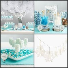 ... Winter Party, Winter Wonderland, Party Idea, Winter Wonderland Party