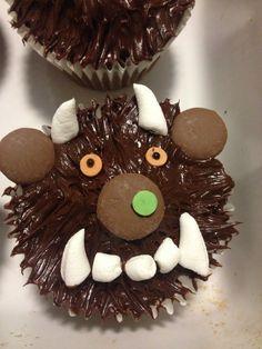 Gruffalo cupcakes!