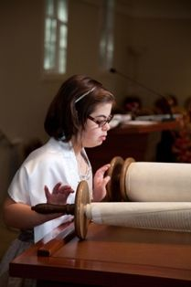 Louisa spent months preparing for her Bat Mitzvah. Like some students with Down syndrome, she has learned to decode because she receives evidence-based reading instruction. Thus she was able to learn enough Hebrew so she could read the Torah during this celebration.   http://openbooksopendoors.com/2012/10/18/learning-the-aleph-bet/