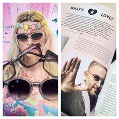 Love is in the Air #eyewearheads talking about #whatislove in the #eyewearmagazine