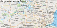 The best judgmental map ever drawn. @amandalmurphy you've got to see this!