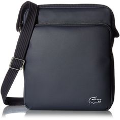 646fb7536 Lacoste Men s Crossover Bag with Pockets (4.660 RUB) ❤ liked on Polyvore  featuring men s fashion