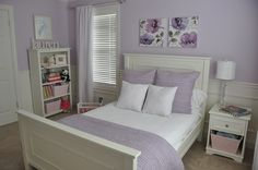 """Wall Color: Duration """"Enchant"""" Paint from Sherwin Williams"""