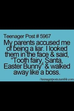 """Teenager posts....""""My parents accused"""