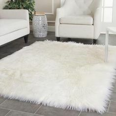 Faux fur rug ideas for your home