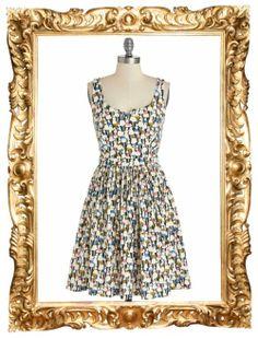 Orla Kiely x People Tree Multicolor Ladies Print Dress - $129.99