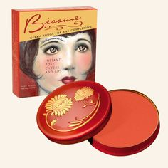 There's nothing more timeless than Apricot Rouge. Packaged in a stunning vintage reproduction tin, this concentrated cream give lips and cheeks a natural, weigh