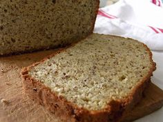 Gluten Free Almond Flour Sandwich Bread Get the recipe here!c… Gluten Free Almond Flour Sandwich Bread Get the recipe here! Foods With Gluten, Sans Gluten, Gluten Free Recipes, Low Carb Recipes, Bread Recipes, Almond Flour Bread, Almond Flour Recipes, Buckwheat Recipes, Flaxseed Bread