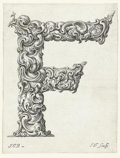 Letter 'F' (Jan Chrystian Bierpfaff + Jeremiasz Falck, 1656) | Flickr - Photo Sharing!