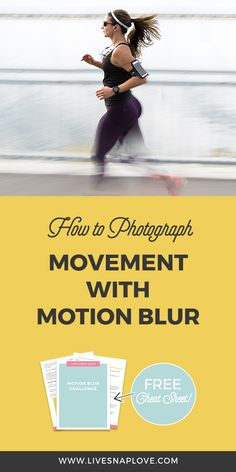 Learn how to get motion blur in your photographs with this step by step photography tutorial for beginners #photography #motionblur #shutterspeed #tips #beginners