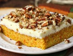 The Best Ever Simple Carrot Cake with Cheesecake Frosting. One Bowl, One Whisk, One incredible sheet cake! The cheesecake frosting really takes this old favorite over the top. This is one recipe to print and tuck in your file box. Cheesecake Frosting, Cheesecake Cookies, Cookie Desserts, Carrot Cheesecake, Oreo Poke Cakes, 18th Cake, The Slow Roasted Italian, Greek Sweets, Eat Dessert First