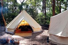 Bell Tent Rentals in NSW This glamping company can be found in the region of New…