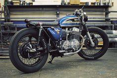 Honda 750 Cafe #Motorcycle