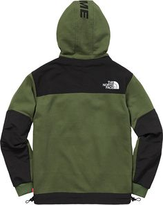 Supreme North Face Hoodie, North Face Jacket, Armani Tracksuit, The North Face, Mens Fleece Jacket, Swag Outfits Men, Mens Joggers, Green Hoodies, Sweater Hoodie