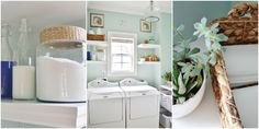 6 Organizing Tips to Steal From This Laundry Room  - HouseBeautiful.com