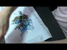 Оформление вышивки в рамку - понравилось видео - ставим лайк!