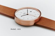 Exquisite minimalist watch with high quality components by iKi Studio. Versatile as fashion watch or dress watch for men and women. Latest Watches, Watches For Men, Stylish Watches, Fashion Watches, Minimalist Fashion, Bracelet Watch, Model, Accessories, Design