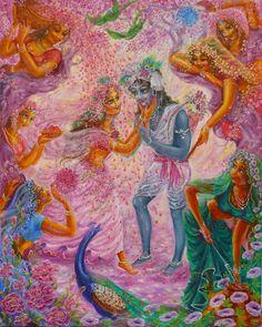 Bhakti Art: Artists Gallery 8 ~ Yugala Priya Devi Dasi - Google+
