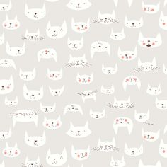 Catnap by Lizzy House for Andover Fabrics